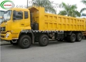 xe tải ben dongfeng 4 chan L375