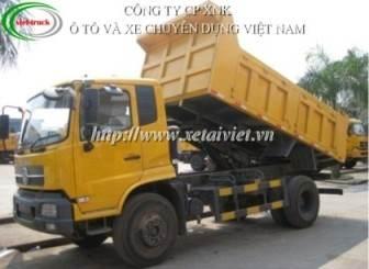 xe tải ben dongfeng 8 tấn nhập khẩu