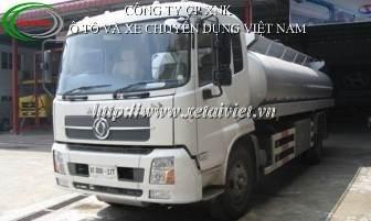 xe cho xang dau 15 khoi, ban Xe téc, xe xitec, xe bồn chở xăng dầu dongfeng 15 khối B190
