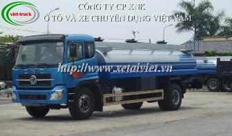 xe cho xang dau 14 khoi, ban Xe téc, xe xitec, xe bồn chở xăng dầu dongfeng 14 khối EQ180