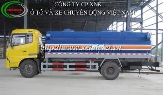 xe cho xang dau 16 khoi, Bán Xe téc, xe xitec, xe bồn chở xăng dầu dongfeng 16 khối B190