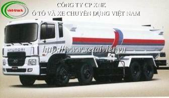 xe cho xang dau 24 khoi, Bán Xe téc, xe xitec, xe bồn chở xăng dầu Hyundai 24 khối HD310
