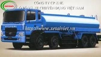 xe cho xang dau 22 khoi, Bán Xe téc, xe xitec, xe bồn chở xăng dầu Hyundai 22 khối HD320