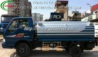 xe cho xang dau 4,5 khoi, Bán Xe téc, xe xitec, xe bồn chở xăng dầu Kia 4,5 khối  5 khoi K3000