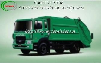 Xe ep rac 15 khoi hyundai HD160, ban xe ep rac Hyundai 15 khoi HD160, xe ép chở rác 15 khối,  bán xe cuốn ép rác Hyundai 15 khối, ep rác 15m3, ép rác Hyundai 15m3 nhập khẩu