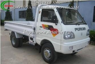 Xe tải Forcia 950kg, xe tải thùng forcia 1 tấn