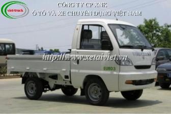 Xe tải Vinaxuki 650kg, xe tải thùng Vinaxuki 5 tạ