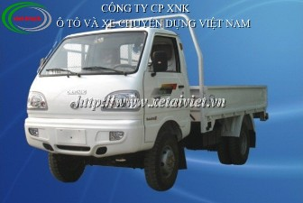 Xe tải Chiến thắng 980kg, xe tải thùng Chiến thắng 1 tấn