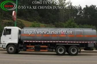xe chở hóa chất 20 khối, xe chở hóa chất 3 chân, bán xe tải, bán xe ô tô tải