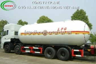 xe chở LPG 32 khối - 35 khối, xe chở gas 4 chân, xe bồn, xe téc, bán xe tải, bán xe ô tô tải
