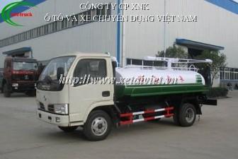 xe hút bể phốt dongfeng 3 khối nhập khẩu nguyên chiếc