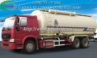 xe bon cho xi mang roi howo 38 khoi