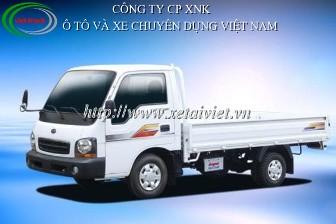 Xe tải Kia 1,25 tấn, kia K2700