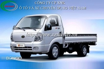 Xe tải Kia bongo 1 tấn, kia bongo K2700 1 tấn