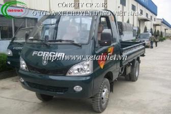 Xe tải Forcia 1,2 tấn, xe tải thùng forcia 1,25 tấn