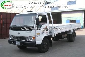 Xe tải Chiến thắng 5 tấn, xe tải thùng Chiến thắng 4,95 tấn