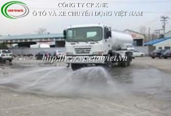 xe rua duong 18 khoi, ban xe phun nước rửa đường Hyundai 18 khối HD260, xe tuoi nuoc rửa đường Hyundai 18m3, xe xitec phun nuoc rua duong Hyundai 18 khoi HD260