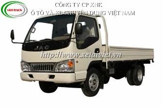 Xe tải jac 1,95 tấn HFC1040KV 1.95TẤN