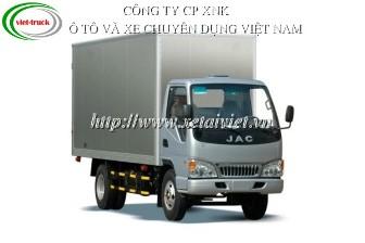 Xe tải jac 2,15 tấn TRA1041K 2.15 TẤN