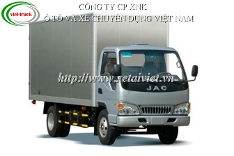 Xe tải jac 3,45 tấn TRA1047K 3,5 TẤN