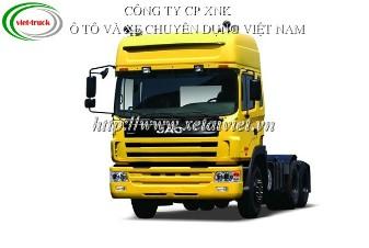 XE ĐẦU KÉO JAC HFC4253K5R1 380 HP 41 TẤN 3 chân