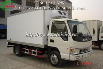 Xe tải jac 2,4 tấn HFC 1047K 2400kg
