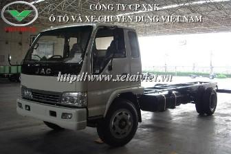 Xe tải jac 5,5 tấn HFC 1083KR 5500kg