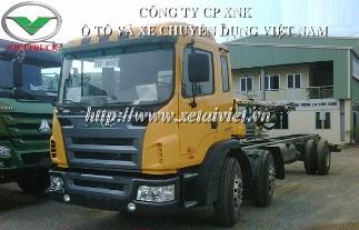 Xe tải jac 2 dí 1 cầu HFC1202K1R1 190HP