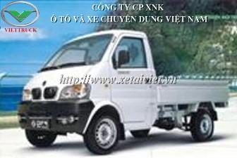 Xe tải Dongfeng 600kg, xe tải thùng Dongfeng 6,5 tạ minitruck