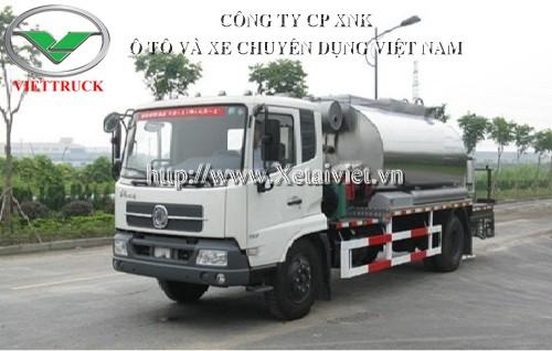 Xe phun tưới nhựa đường 10 khối dongfeng nhập khẩu nguyên chiếc, xuất xứ trung quốc, phân phối bới công ty cp xnk ô tô và xe chuyên dụng việt nam