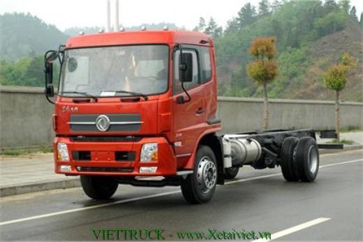 xe cabin chassy 8 tấn dongfeng nhập khẩu
