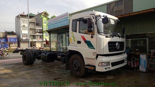 Xe tải dongfeng 9 tấn động cơ 210 thùng dài 8m nhập khẩu nguyên chiếc