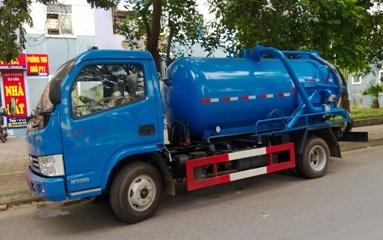 xe hút bùn, hút cống dongfeng 3 khối nhập khẩu nguyên chiếc, bán xe tải, bán xe ô tô tải