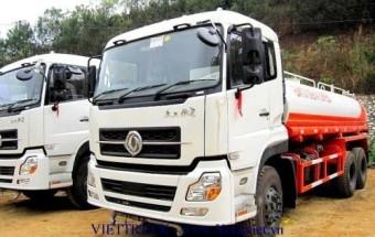 Viettruck bán xe phun nước rửa đường dongfeng 12m3 nhập khẩu đóng trên xe cơ sở xe tải dongfeng 3 chân C260 15 tấn nhập khẩu nguyên chiếc