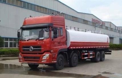 xe phun nước rửa đường dongfeng 15m3 nhập khẩu đóng trên nền xe cơ sở xe tải dongfeng 4 chân l315