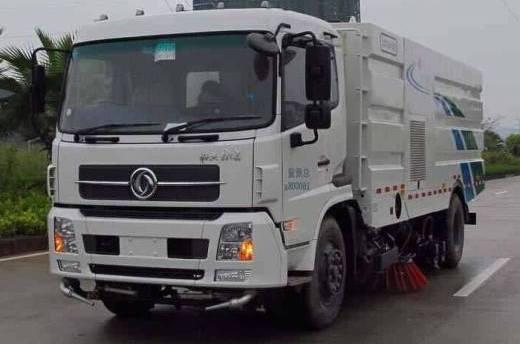 xe quét rửa đường liên hợp là xe chuyên dùng kết hợp 2 chức năng là quét rác, quét đường kết hợp phun nước rửa đường. xe thường được sử dụng cho các khu công nghiệp lớn, giúp giảm thiểu nhân công máy móc, thời gian làm việc