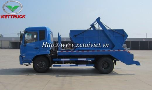 xe chở bùn  9 khối dongfeng B190 là loại xe chở bùn có dung tích chứa bùn loại trung bình, sử dụng xe tải dongfeng 9 tấn động cơ cumin B190 thùng chứa bùn từ 8m3 đến 10m3