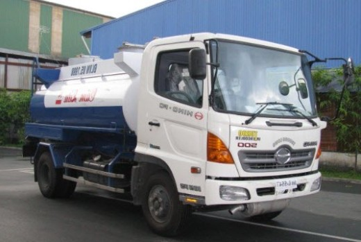 Ban xe bon Hino 8T4 84t cho Dau Diesel 10 khoi Hino FG8JJSB