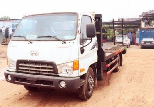 xe nâng đầu hyundai hd700