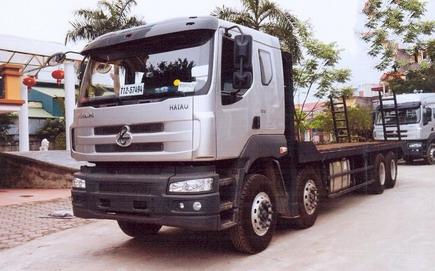 xe chở máy công trình chenglong