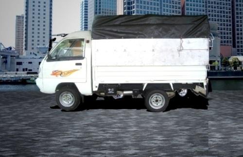 Xe tải thùng bạt giải phóng 8 tạ, 810kg