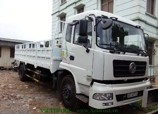 xe tải thùng lửng 9 tấn dongfeng nhập khẩu