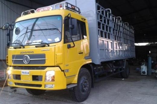 xe tải khung mui phủ bạt
