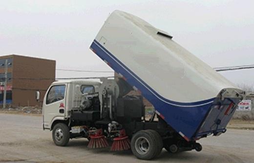 xe quét rác 5 khối