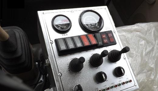 bảng điều khiển xe ép rác dongfeng 6 khối