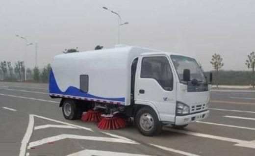 hình ảnh xe quét rác isuzu