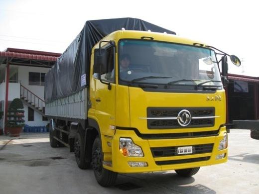 xe tải thùng bạt dongfeng C230