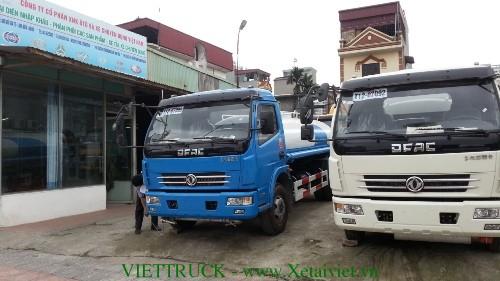 xe phun nuoc rua duong 6m3 dongfeng