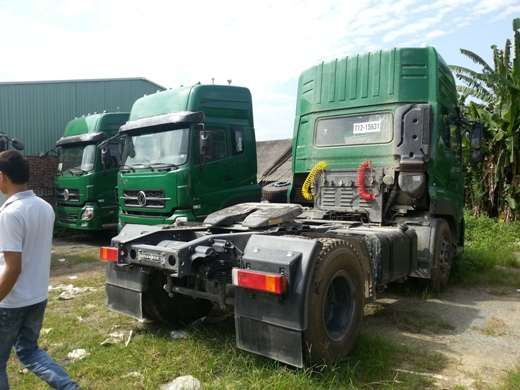 xe dau keo dongfeng l375 su dung lop 11r-20