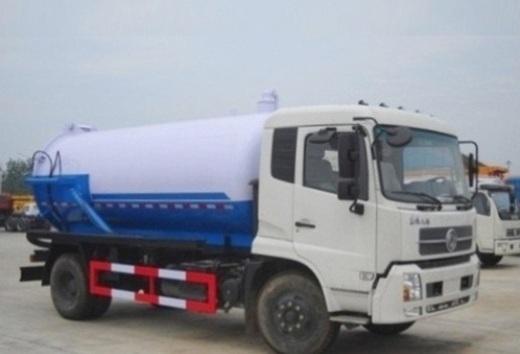 xe hut bun cong dongfeng 10m3 mau xanh trang